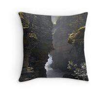 Athabasca Gorge (5) Throw Pillow