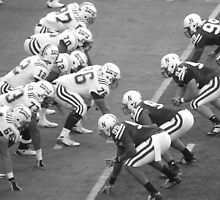 Lining up Against the Blackshirts by worldwideart