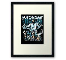 Autonomy Framed Print