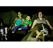 Modern Family Photographic Print