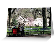 Music in the Park Greeting Card