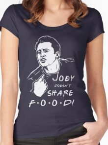 Joey Doesn't Share Women's Fitted Scoop T-Shirt