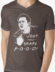 Joey Doesn't Share Mens V-Neck T-Shirt
