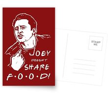 Joey Doesn't Share Postcards