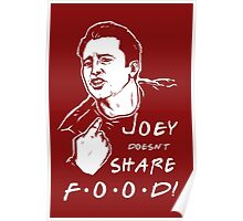 Joey Doesn't Share Poster