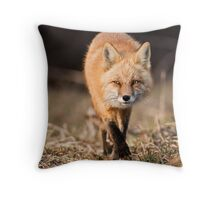 Approaching Throw Pillow
