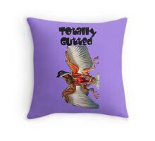 The totally gutted Throw Pillow