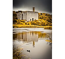 Lime Works at Aberthaw Photographic Print