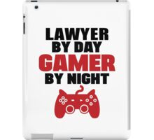 Lawyer By Day Gamer By Night iPad Case/Skin