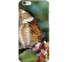 Clipper Butterfly - watercolour iPhone Case/Skin