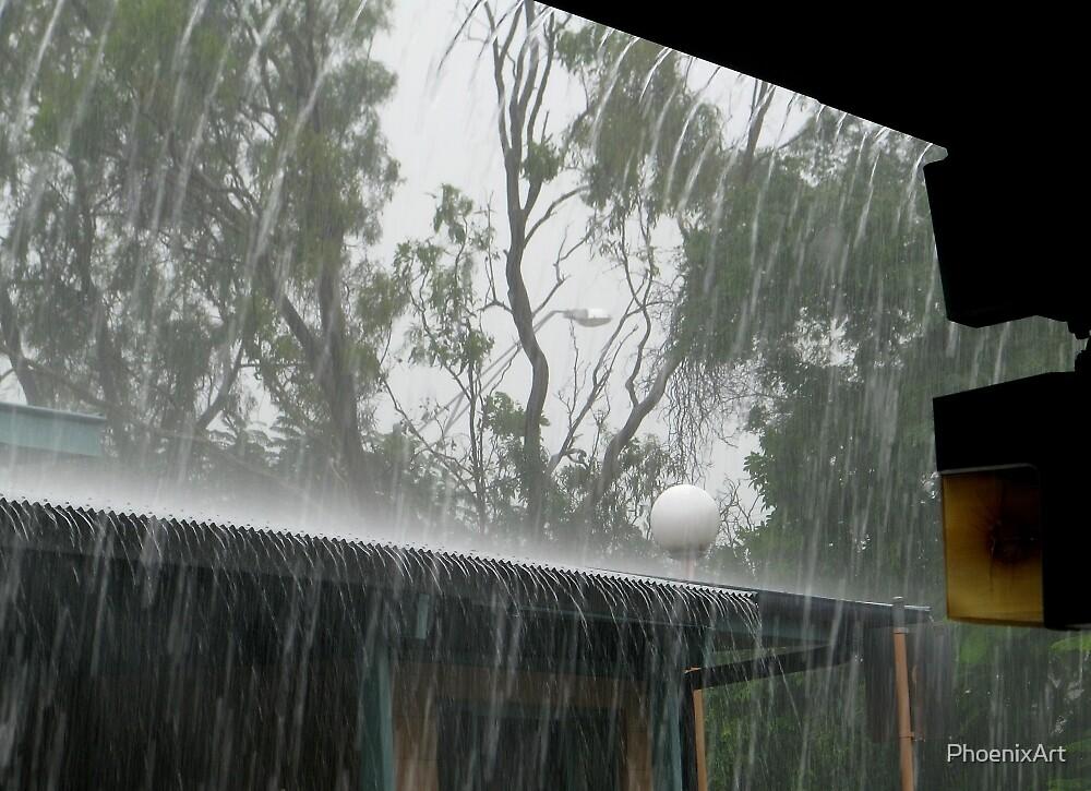 It's Raining, It's Pouring by PhoenixArt