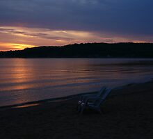 Traverse City dawn by tanmari