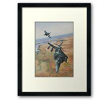 Top Gun! Framed Print