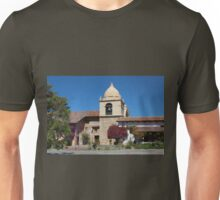 The South Belltower of Carmel Mission Unisex T-Shirt