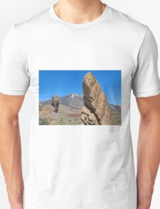 Roques de García and Mount Teide Unisex T-Shirt