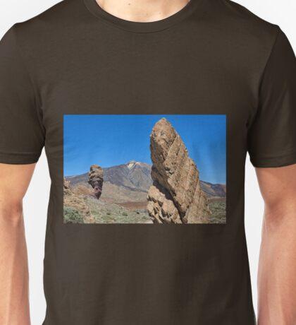 Roques de García and Mount Teide Unisex T-Shirt