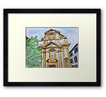 Baroque Milan Framed Print