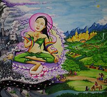 Green Tara by mindheartmedia