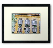 Finestre di Brera Framed Print
