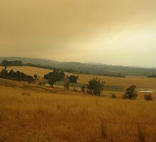 Fires in Yarra Glen by minarri