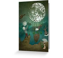 For You I will bring the Moon Greeting Card