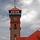 Clock Tower at the Union Station by Jennifer Hulbert-Hortman