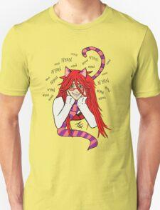 Grell Cheshire Cat - Black Butler Fan Art T-Shirt