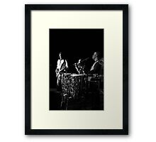 EARTH WIND AND FIRE. Framed Print