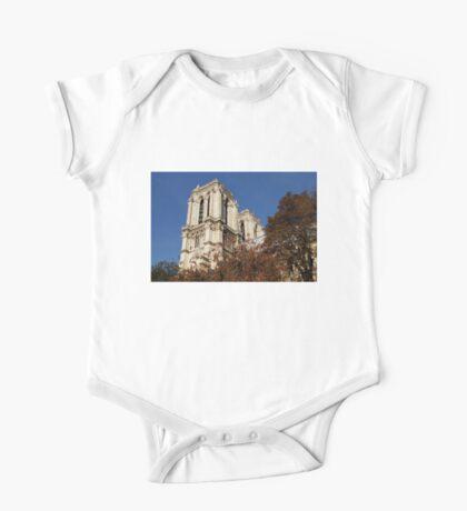 Notre-Dame de Paris – French Gothic Elegance in the Heart of Paris One Piece - Short Sleeve