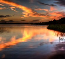 Dusk At Trory by runnerpaul