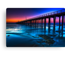Dawn at Point Lonsdale #2 Canvas Print