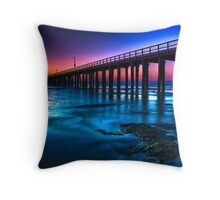 Dawn at Point Lonsdale #2 Throw Pillow