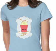 Fries Before Guys. Womens Fitted T-Shirt