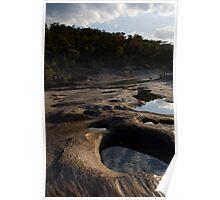 Alien Landscape - Granite Formations Poster