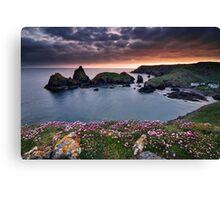 Cornwall - Kynance Cove Canvas Print