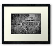 Spooky House Framed Print