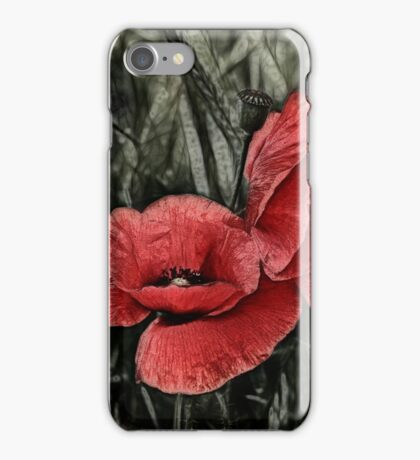 double red iPhone Case/Skin