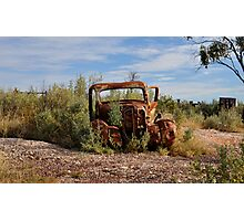 Rusted History - Lightning Ridge NSW Australia Photographic Print