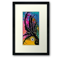 A Rare Bird - Tropical Parrot Art By Sharon Cummings Framed Print