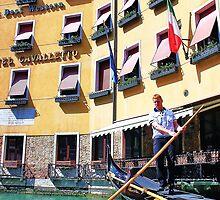 man driving the gondola by xxnatbxx