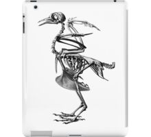 bird skeleton iPad Case/Skin