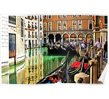 gondolas parked up  Poster