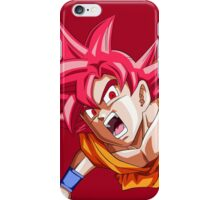 Goku Super Saiyen God iPhone Case/Skin