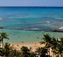 Blue Lagoon - Waikiki, HI by Harvbubble