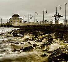 St. Kilda Pier by Stephen Ruane