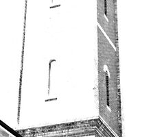 Architecture Art - Prahran Fire Tower by Shauna Lacey