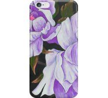 Purple Peony Blooms iPhone Case/Skin