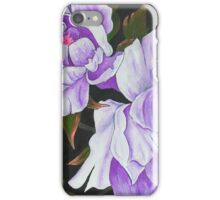 Purple Peony Blooms iPhone Case/Skin