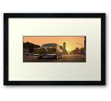 Chromeo's sunset...on Sunset Framed Print