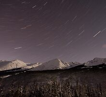 Alaskan Star Trails by Lawrence Yeung